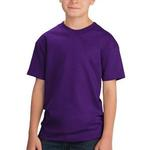 Youth 100% Cotton T Shirt, Short Sleeve
