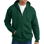 Adult Ultimate Cotton® Full Zip Hooded Sweatshirt